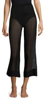 Chiara Boni Mesh Coverup Pants