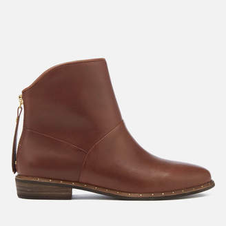 UGG Women's Bruno Leather Ankle Boots