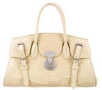 Ralph Lauren Alligator E/W Ricky Bag