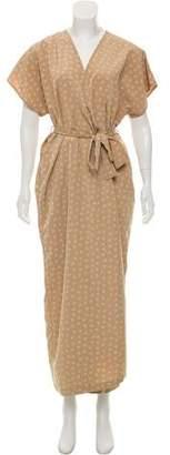 In God We Trust Maxi Wrap Dress