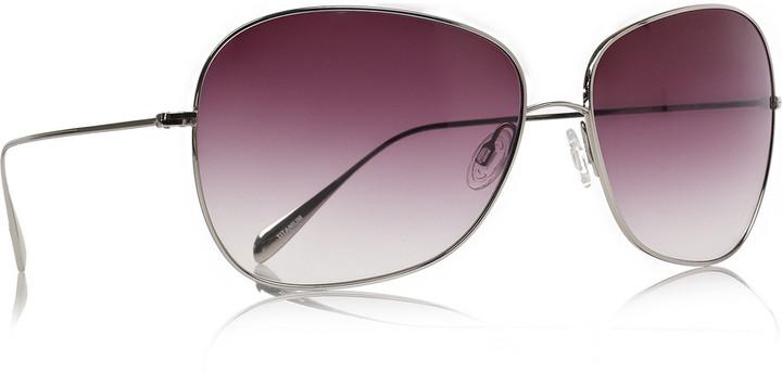 Oliver Peoples Elsie metal-frame aviator sunglasses