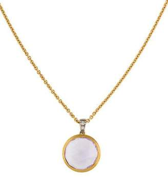 Marco Bicego 18K Amethyst & Diamond Delicati Pendant Necklace