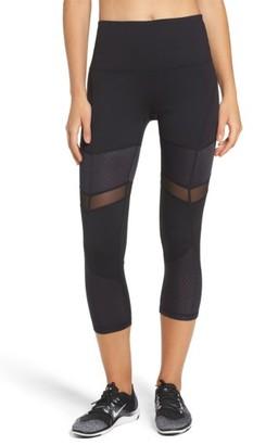 Women's Zella Turning Point High Waist Crop Leggings $55 thestylecure.com