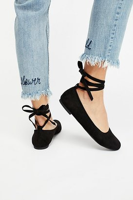 Vegan Hearts Flat by BC Footwear at Free People $65 thestylecure.com