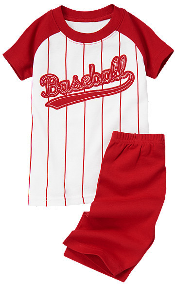 Gymboree Baseball Shortie Two-Piece Gymmies®