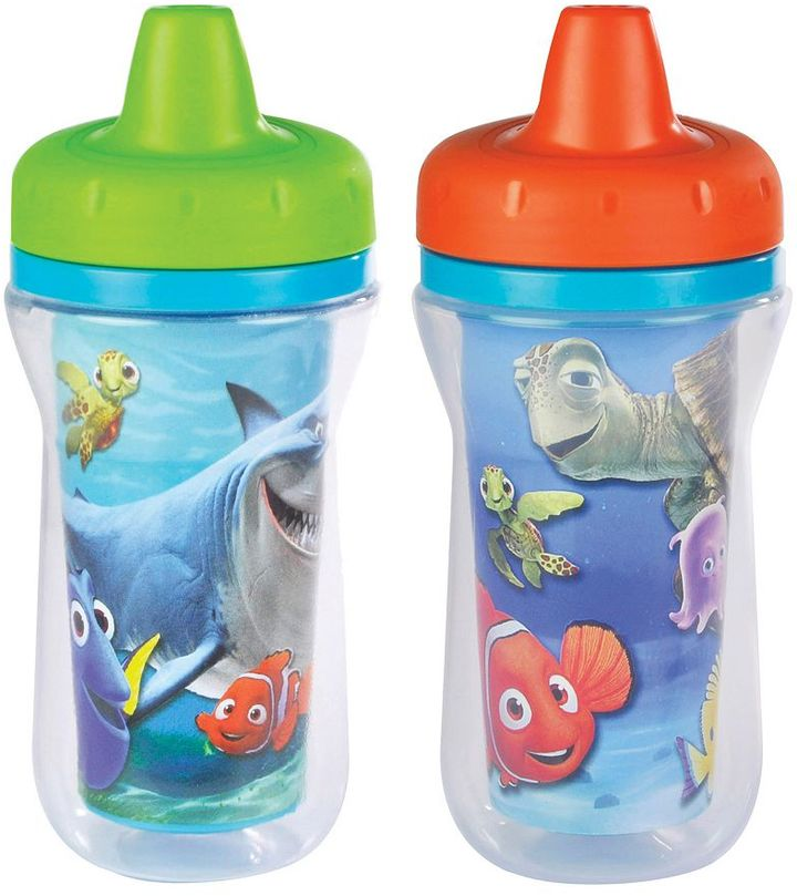 The first years Disney / Pixar Finding Nemo 2-pk. Insulated Sippy Cups by The First Years