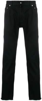 Represent frayed hem jeans