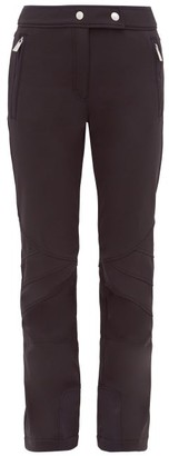 Toni Sailer Sestriere Flared Technical Ski Trousers - Womens - Black