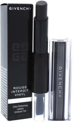 Givenchy 0.11Oz Noir Revelateur Rouge Interdit Vinyl Color Enhancing Lipstick