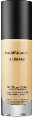 bareMinerals BarePRO Performance Wear Liquid Foundation Broad Spectrum SPF 20