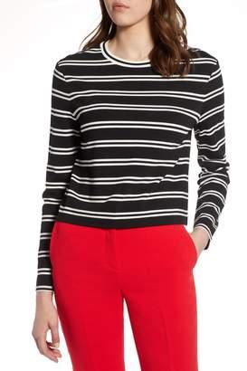 Halogen Stripe Knit Top