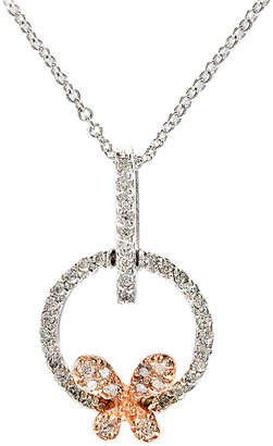 Effy Fine Jewelry 14K Two-Tone 0.21 Ct. Tw. Diamond Necklace