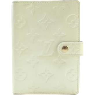 Louis Vuitton White Patent leather Clutch Bag