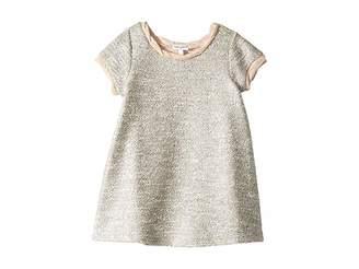 Splendid Littles Lurex Short Sleeve Dress (Toddler)