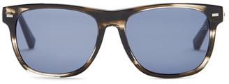 Ermenegildo Zegna Women's Acetate Square Sunglasses $230 thestylecure.com