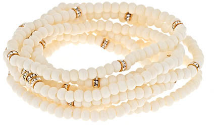 Lola James Bone Beaded Bracelet Set