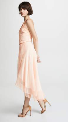 EWA Herzog Dot Lace Midi Dress