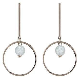 Rebecca Minkoff Stick & Hoop Earrings