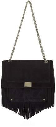 Claudie Pierlot Suede Shoulder Bag