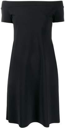 Chiara Boni Le Petite Robe Di off the shoulder fitted dress