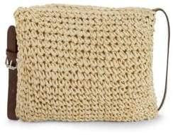 Straw Studios Woven Crossbody Bag