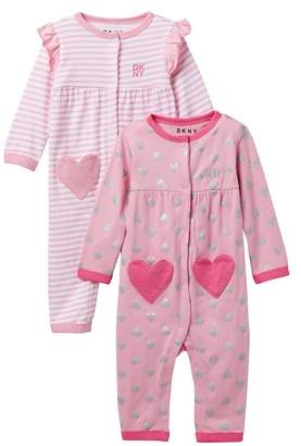 DKNY I Heart Assorted Coveralls (Baby Girls 0-9M)