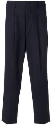 Kenzo tapered straight leg trousers