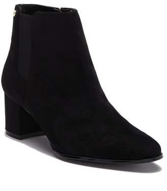Calvin Klein Fisa Suede Ankle Bootie