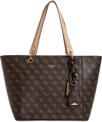 At Macy S Guess Kamryn Signature Tote