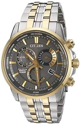 Citizen Men's BL8144-54H Eco-Drive Analog Quartz Stainless Steel Watch