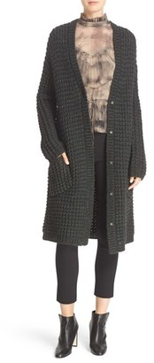 Tracy Reese Chunky Sweater Coat $398 thestylecure.com