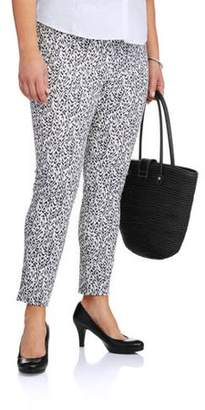 Faded Glory Women's Plus-Size Printed Jeggings