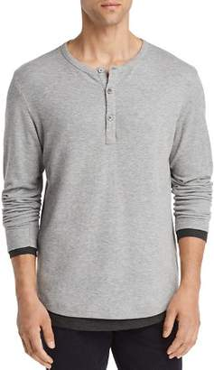 Theory Double Layer Henley - 100% Exclusive