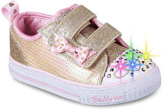 Skechers Twinkle Toes Itsy Bitsy Toddler Light-Up Sneaker - Girl's