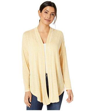 Bobeau B Collection by Cecile Tie Front Cardigan