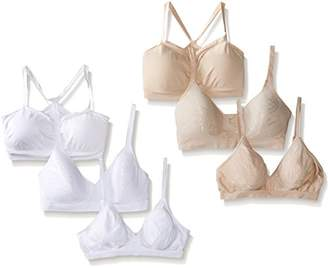 Barely There Women's Custom Fit Wirefree Bra Bundle 4085 4546 X741 (Pack of 6) $35.19 thestylecure.com