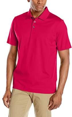 Cutter & Buck Men's Warrick Mercerized Luxury Solid Polo Shirt
