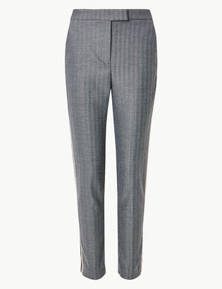 Marks and Spencer Mia Slim Side Stripe Trousers