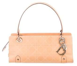 Christian Dior Cannage Leather Handle Bag