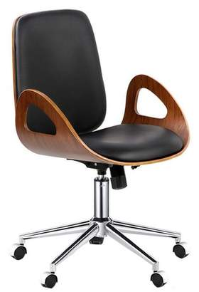 Executive Walnut Office Chair