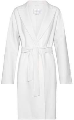 Max Mara Nancy Belted Wool And Angora-Blend Coat