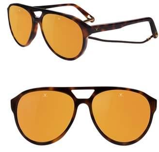 Vuarnet Tom 64mm Aviator Sunglasses