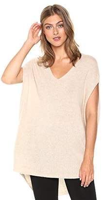 Theory Women's Sleeveless Vneck Cape Sweater