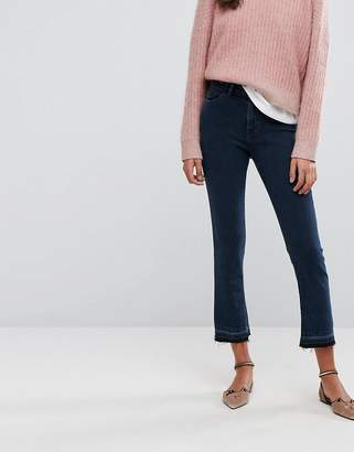 Esprit Kick Flare With Back Button Detail