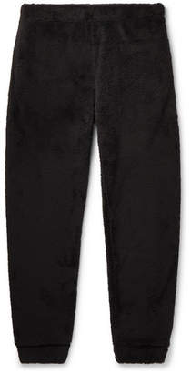 Wavy Bone Tapered Fleece Sweatpants