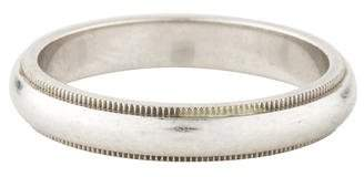 Tiffany & Co. Platinum Milgrain Wedding Band