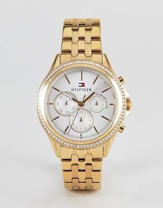 Tommy Hilfiger Ari bracelet watch in gold 40mm