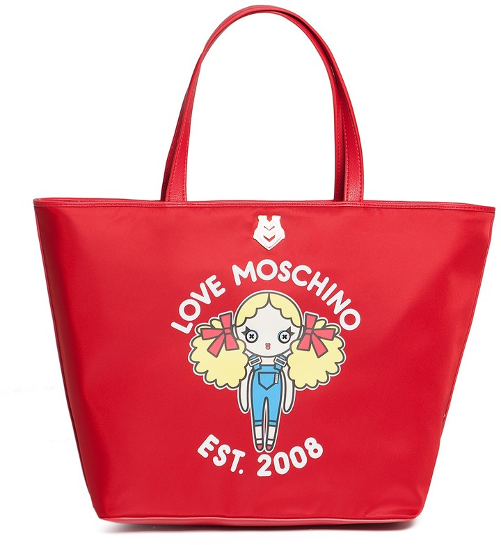 Love Moschino LOVE Moschino Graphic Print Tote Bag