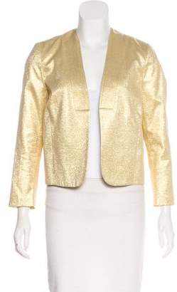 Rachel Comey Collarless Metallic Jacket