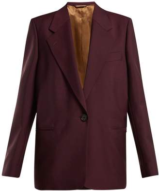 Acne Studios Single-breasted wool and mohair-blend blazer
